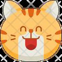 Smile Emoticon Cat Icon