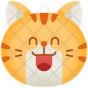 Smile Emoticon Cat Icon