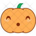 Smile Doubt Pumpkin Icon