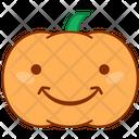 Smile Happy Pumpkin Icon