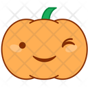 Smile Happy Pumpkin Icon
