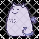Smile Happy Sticker Icon