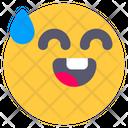 Smile Drop Happy Icon