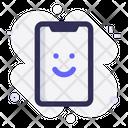 Mobile Good Smile Icon