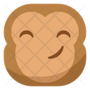 Smile Okay Monkey Icon
