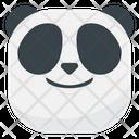 Smile Panda Emoji Icon