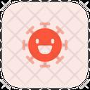 Smile Coronavirus Emoji Coronavirus Icon