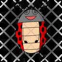 Smile Ladybug Icon