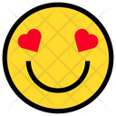 Smile Love Romantic Love Icon