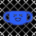 Smile Teeth Mask Virus Icon