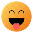 Smile With Tongue Face Emoji Face Icon