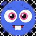 Smiled Teeth Emoji Icon