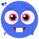 Smiled Teeth Emoji Emoticon Emotion Icon