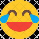 Tear Joy Emoji Icon