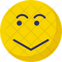 Smiley Sad Twinkle Icon