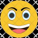 Surprised Happy Emoji Icon