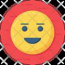 Positive Emoticon Smiley Emoji Icon