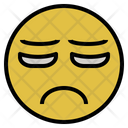 Hopeless Emotion Down Icon