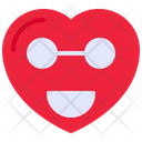 Smiley Emoji Love Icon