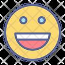 Emotion Smiley Happy Icon