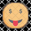 Smiley Money Emoji Icon