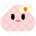 Woman Emoji Emoticon Icon