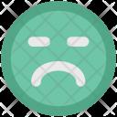 Smiley Sad Face Icon