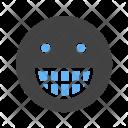 Smiley Big Grin Icon