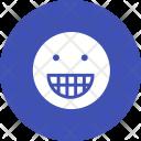 Smiley Grin Emoji Icon