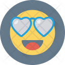 Smiley Happy Love Icon