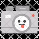 Smiley Camera Photographic Equipment Instant Camera Icon