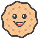 Smiley Cookie Biscuit Baking Icon