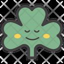 Smiley Coriander Face Coriander Face Emoticon Icon