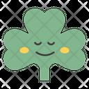 Smiley Coriander Face Icon