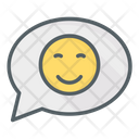 Smiley Message Icon