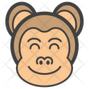 Smiley Monkey Icon