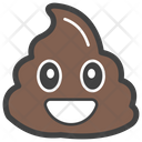 Smiley Poop Icon