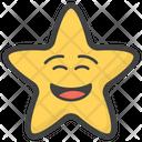 Smiley Star Icon