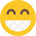 Smiling With Open Icon