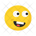 Smiling Laughing Cheerful Icon
