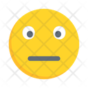 Smiling Emoticon Neutralface Icon