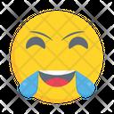 Smiling Emoticon Laugh Icon