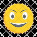 Smiling Laugh Feeling Icon