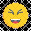 Smiling Laugh Joy Icon