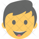 Smiling Boy Emoji Icon