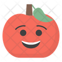 Smiling Apple Icon