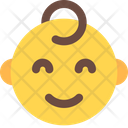 Smiling Baby Icon
