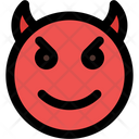 Smiling Devil Icon
