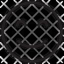 Smiling Eyes Icon