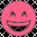 SMILING-EYES SMILEY Icon